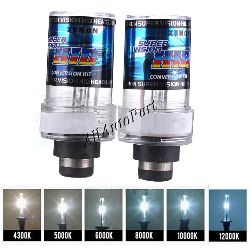 Hid xenon replacement bulb 2pcs AC 12v 55W D2S Xenon bulb 4300k 6000k 8000k 10000K 12000K xenon d2c for Car Headlight 2 w p w v p10000 10000 waka ddc12