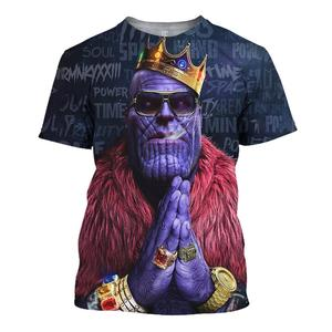 Image 3 - YOUTHUP 2020 Anime Design männer 3d Hoodies Mode Voll Bedruckt Mit Kapuze Pullover Männlich Kühlen Thanos 3D Hoodies Sweatshirt