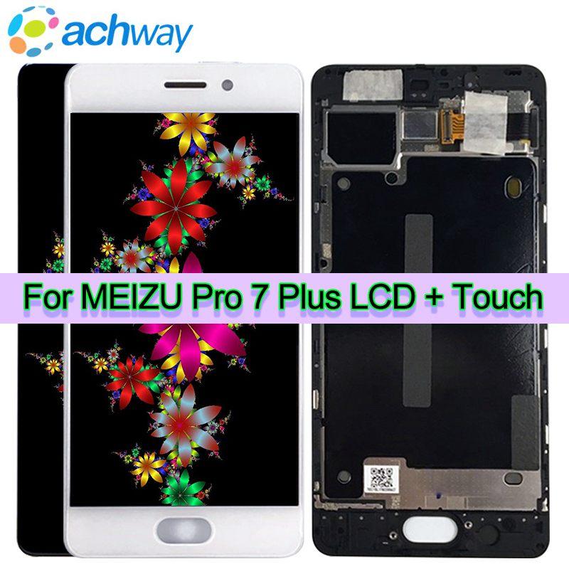 Original New 5 7 LCD Screen Meizu Pro 7 Plus LCD Display Touch Screen Digitizer Full