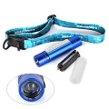 2-IN-1 6 LED + Q5 LED Mini Headlamp Headlight Head Light Torch Flashlight AAA Lamp Lanterna By 18650, 3 Color.