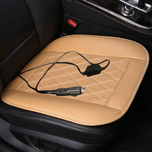 цена winter Heated Car seat cover 12V Universal Heated Cushion For Toyota Camry Corolla RAV4 Civic Prado Land cruiser Vers