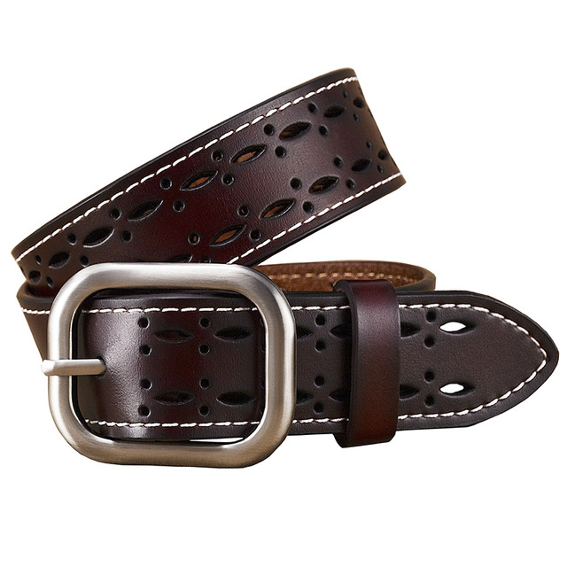 Women's Hollowed-Out Genuine Leather Belt