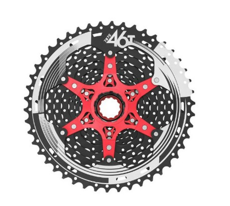 все цены на Super light 11-46T SunRace 11 Speed Bike Freewheel Wide Ratio bike bicycle mtb freewheel Mountain Bicycle Cassette 480g онлайн