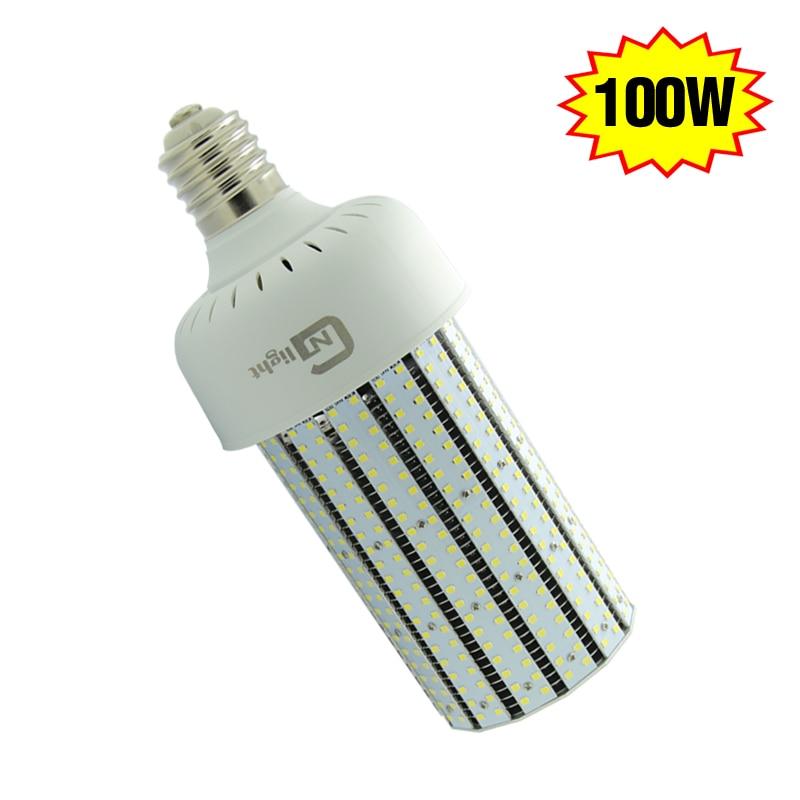 480V 347volt 100W LED Corn Light Retrofit 400Watt Parking