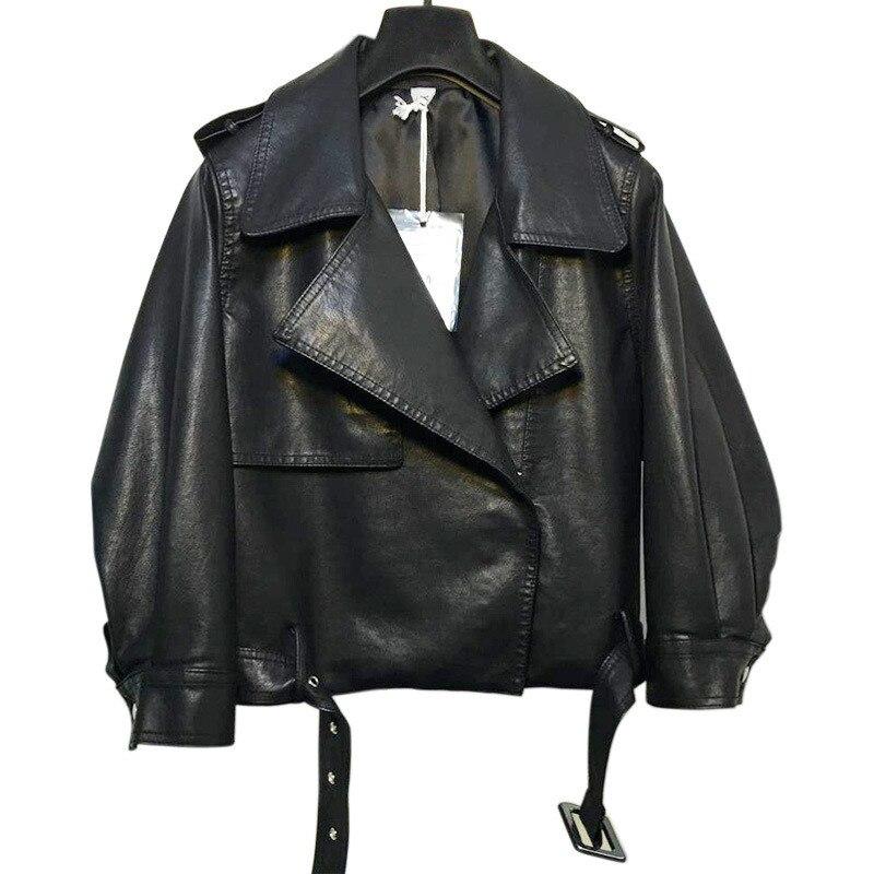 Camouflage cuir veste femmes 2019 BF Faux cuir Bomber veste lanterne manches moto court manteau Chaquetas Mujer C4138