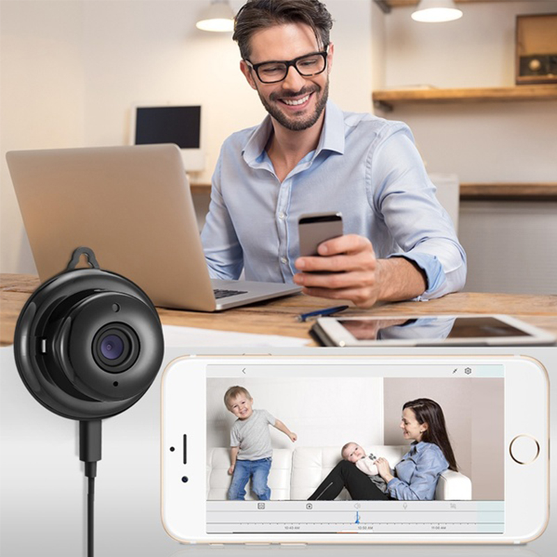 Image 3 - HD 720P WIFI Mini Wireless IP Camera Night Vision Mini Camcorders Kits for Home Security CCTV Camera-in Mini Camcorders from Consumer Electronics
