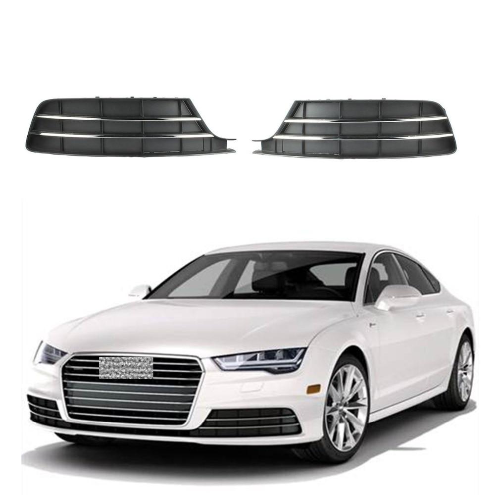 Audi A5 8T OS Right Lower Fog Light Bumper Grill