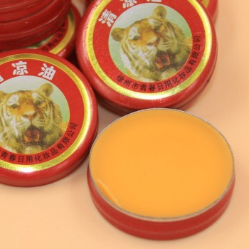 8PCS Tiger Balm Plaster Ointment Creams Balsamo de Tiger Essential Oils image