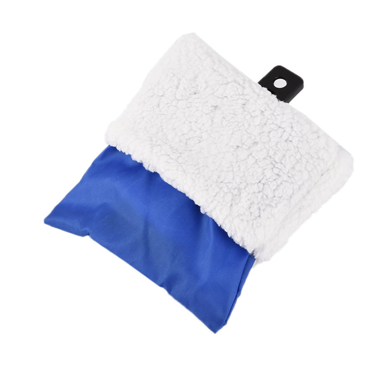 Winter Warm Car Snow Ice Shovel Scraper With Lined Glove Removal Clean Tool High Quality Snow Ice Shovel Winter Car Accessories