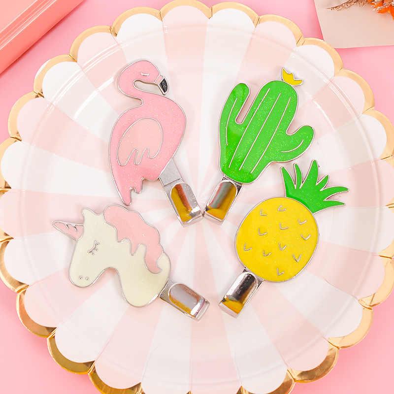1 pegatina más fuerte, ganchos de cocina para el hogar, colgador de pared para habitación de niños, flamenco, Cactus, Cisne, unicornio, colgador, accesorios de baño