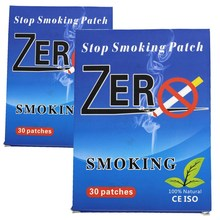 20boxes=600pcs 2018 Hot Selling Stop Smoking Patch 100% Natural Herbal Smoking Cessation Pad Quit Smoke Patch Health Therapy moonbiffy 2017 health care magnet auricular quit smoking acupressure patch no cigarettes health therapy