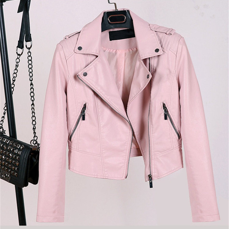High Quality Pink Cropped Jacket Promotion-Shop for High Quality