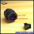 Fibra Opitic Fibra Opitc Adaptador Acoplador de Modo Único, campo De Fibra Óptica Cabo Blindado, uso para Transmissão de TV Do Exército