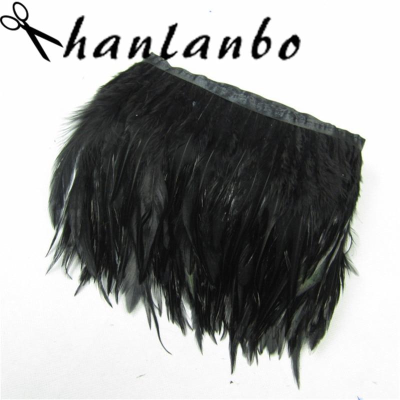 Diseño negro 15cm amplia franja De Encaje Floral Lencería Disfraz De Costura un recorte de 6/'