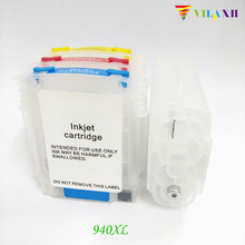 For HP 940 Refillable Ink Cartridge for HP 940 xl for HP Officejet Pro 8500 8500a All-in-One 8000 Printer 940xl 940 hp940 refillable ink cartridge for hp officejet pro 8000 8500 8500a for hp premium 4 color dye ink 400ml