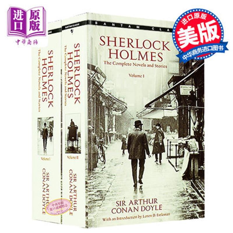 2/PCS Sherlock Holmes Sherlock Holmes English Novels English Import Book Novels Suspense Reasoning Sherlock Classics