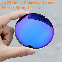 1.499 Index Prescription Sunglasses Polarized Lenses Mirror Shiny Sunglasses Lenses for Myopia/Hyperopia Anti UVA/UVB Anti Glare