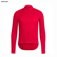 2017 SPEXCEL red soft shell top quality Winter Windproof for 0 degree Jacket thermal fleece Cycling jacket bicycle gear