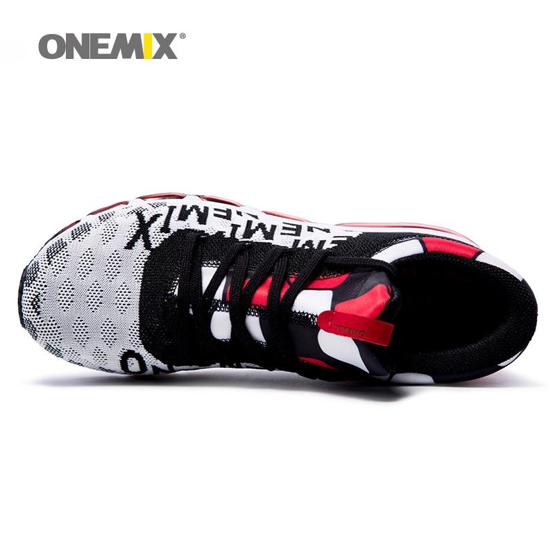 Max の男のランニングシューズ男性のためのトレイル素敵なトレンド運動トレーナー黒赤メンズ高トップスポーツ靴クッション屋外スニーカー  グループ上の スポーツ & エンターテイメント からの ランニングシューズ の中 2