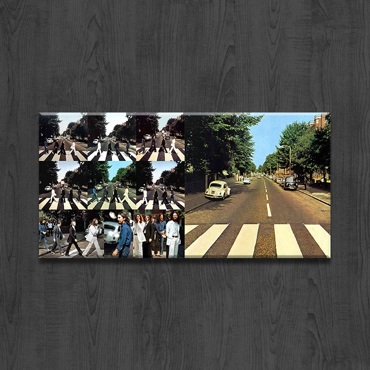 single panel Canvas for Living Room a picture of beatles the abby road wall art Home Decoration Modern Painting printed