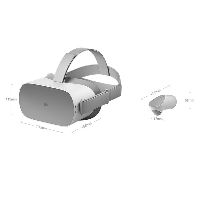 Original Xiaomi Mi VR Standalone All In One VR Glasses With Oculus 3GB/32GB 2K LCD Screen With Remote Controller VR Headset 2