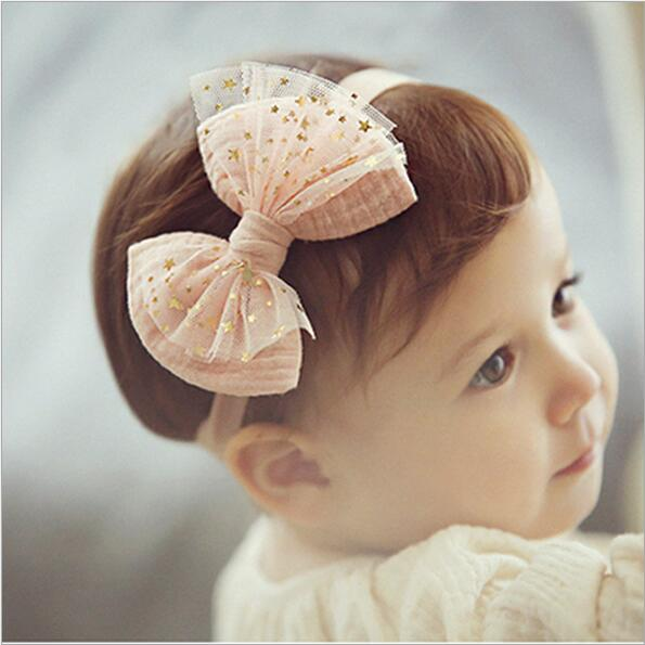 tulle flower bowknot headbands for baby girls children hair bows head band headband ornaments hairband photo shoot accessories 4pcs set fashion cute kid girls headband bowknot headbands bows band hair accessories acessorios para cabelo