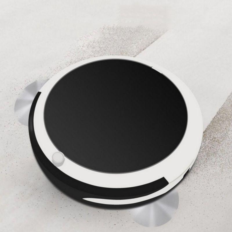 Nettoyeur automatique de vadrouille de plancher de Robot intelligent Rechargeable automatique Super forte aspiration nettoyage automatique du Robot de balayage intelligent de maison de plancher