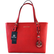 High Quality Luxury Large Capacity Famous Designer Red Solid Color Big  Shoulder Bag Tote Bag Handbag ad4bdb85642c6