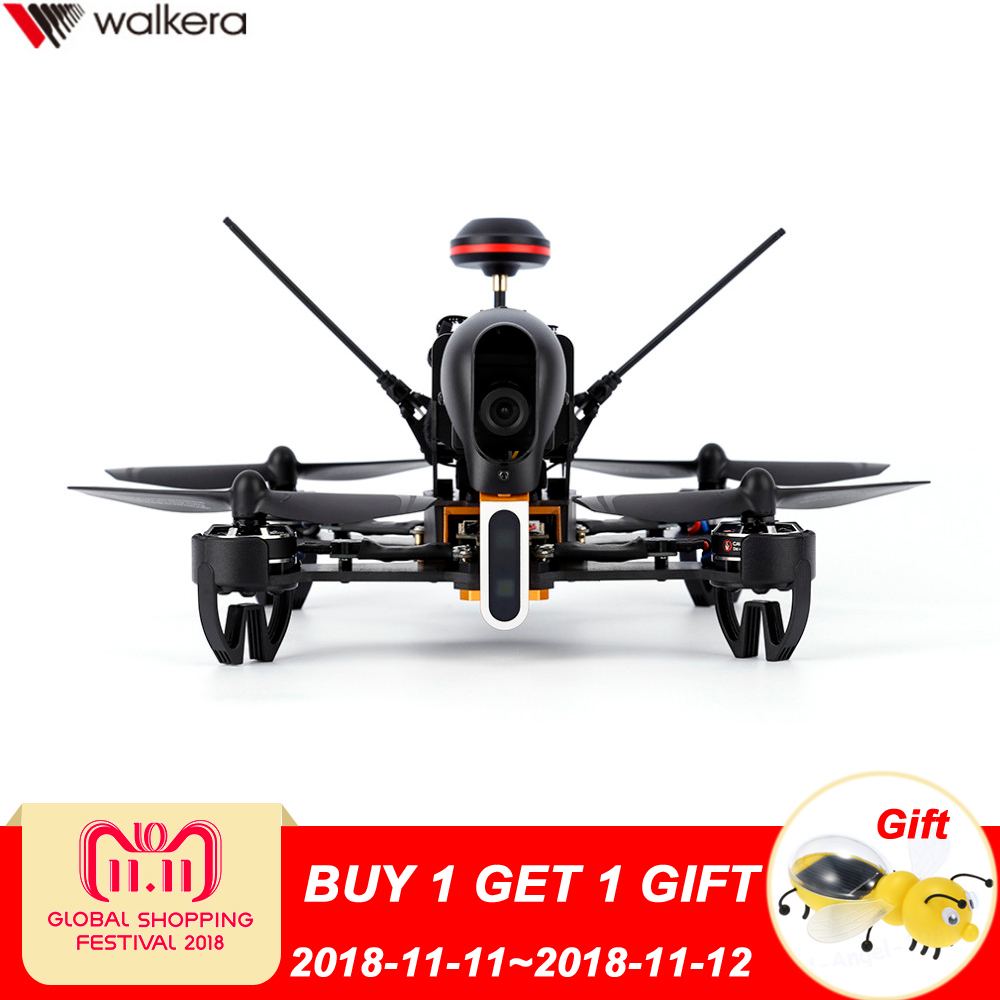 Original Walkera F210 2.4Ghz 7CH FPV Drone with Camera 700TVL DEVO7 RC Helicopter Quadcopter original walkera devo f12e fpv 12ch rc transimitter 5 8g 32ch telemetry with lcd screen for walkera tali h500 muticopter drone