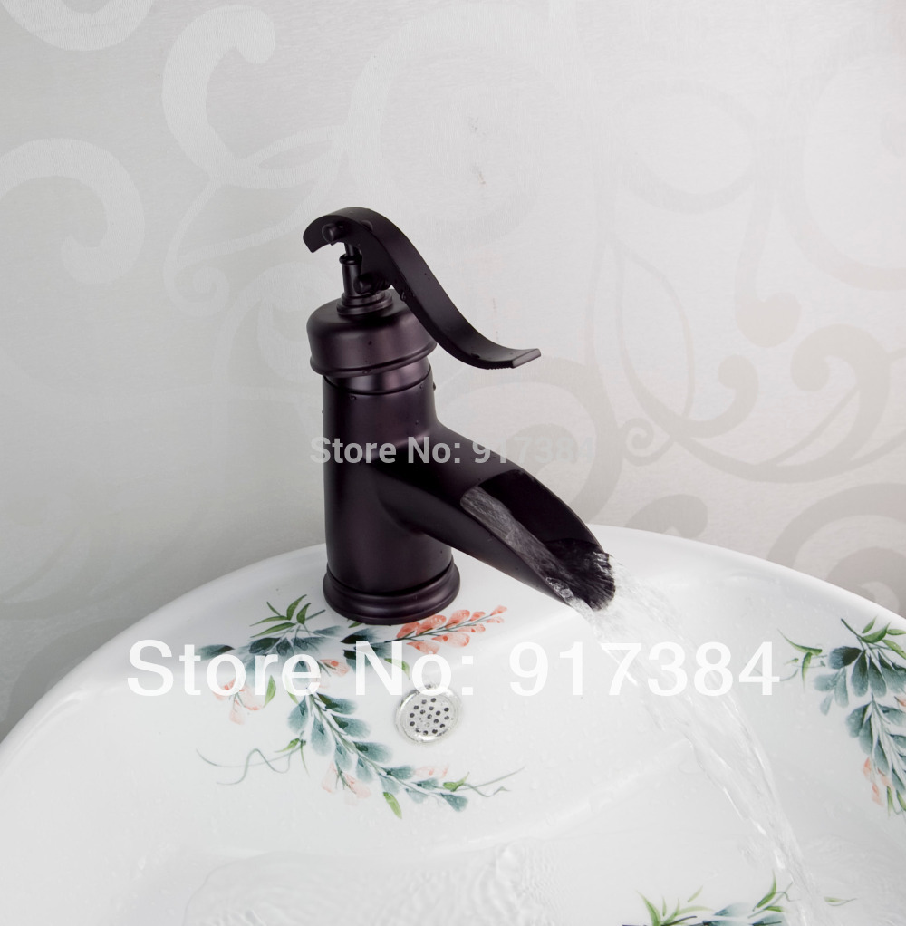 Ceramic New Deck Mounted Single Handle Oil Rubbed Bronze Bathroom Basin  Sink Mixer Tap Brass Faucet LW-1234 make up factory automatic eyeliner 24 цвет 24 smokey plum variant hex name 474995