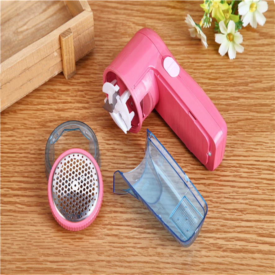 NEW 2017  Portable Electric Sweater Clothes Lint Pill Fluff Remover Fabrics Fuzz Shaver  Dropshipping B785 new plug in hair ball trimmer portable electric sweater clothes lint pill fluff remover fabrics fuzz shaver