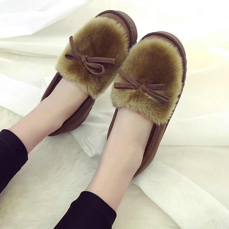 2019 г. новинка зимний сладкий горошек обувь с бабочкой и бархатной резиновой