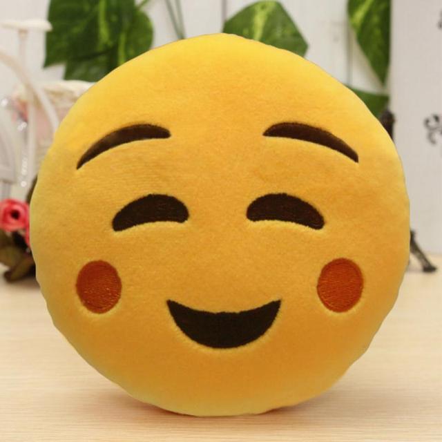 Mini Soft Emoji Cushion