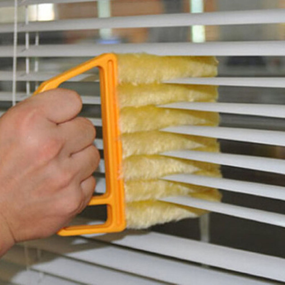 Practical Microfibre Blind Blade Window Clean Brushes tool Magnetic Window Cleaner Household Cleaning Tools