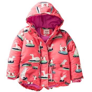 M39 Spring Autumn Winter Child Thicken Padded Lining Jacket Hoodies Boy&Girl Keep Warm Coat kids Tops Outwear kids Windbreaker