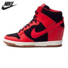 Original de la Nueva Llegada 2016 NIKE DUNK SB Skate Zapatos Zapatillas de deporte de Las Mujeres el envío libre
