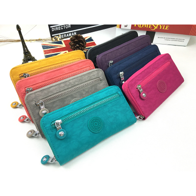 Long Wallet Women Nylon Zipper Purse Lady Money Day Clutch Girl Organizer  Purse
