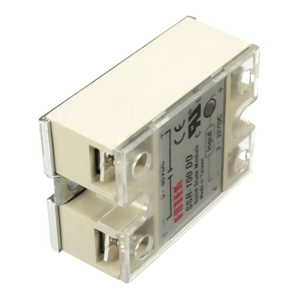 High Quality 1 Piece Solid State Relay Ssr Dc Control 25 Dd 3 For 100 Module 100a 32v 5 60v