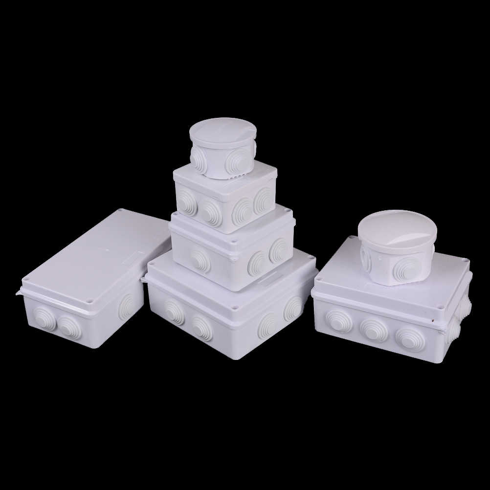 Waterproof Plastic Junction Box Electrical Connection Box