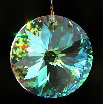 20Pc Glass Crystal Pendant 20MM Charms Chandelier Prism Icicles DIY Suncatcher