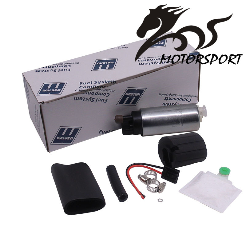 Universal Intank Fuel Pump Walbro Gss342 Kraftstoffpumpe 255lph Leistungsfluss