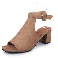 קיץ סנדלי נשים סנדלי אצבע Flip צונחת נקבה סגנון קוריאני נעלי נשים עקבי סנדלי גלדיאטור טריז פלטפורמת נעלי נעל