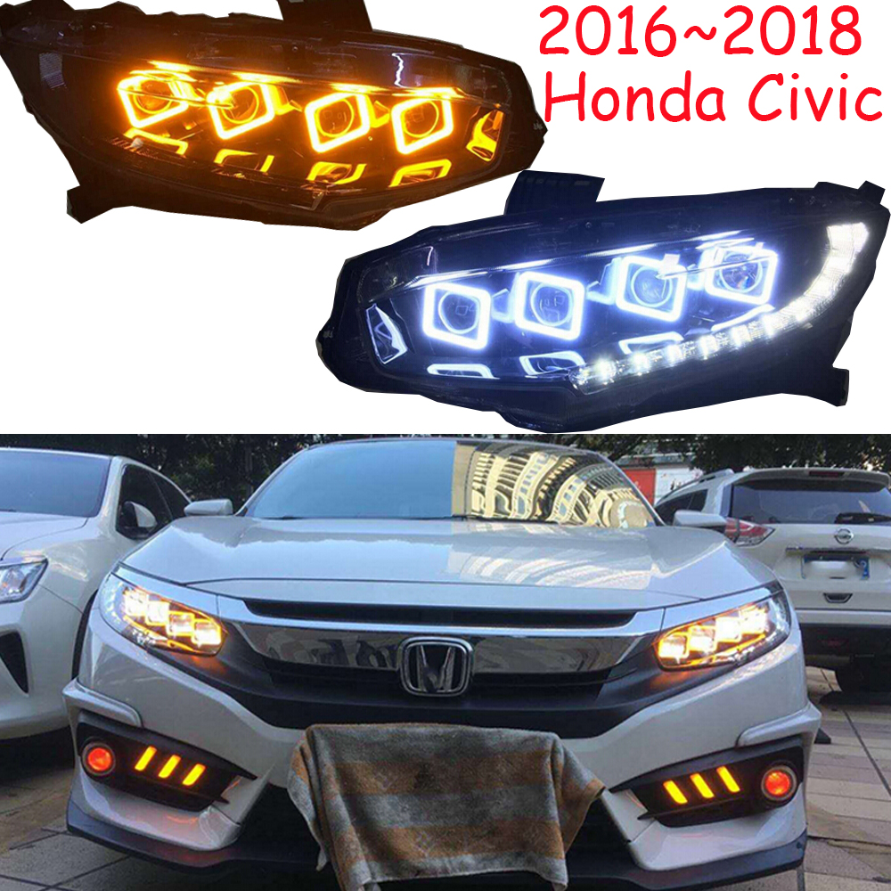 Video,Car headlight,2016~2018,LED,Free ship!Car daytime light,XRV,Crosstour,CRX,CR-Z,Element,insight,Passport,Car headlamp цены