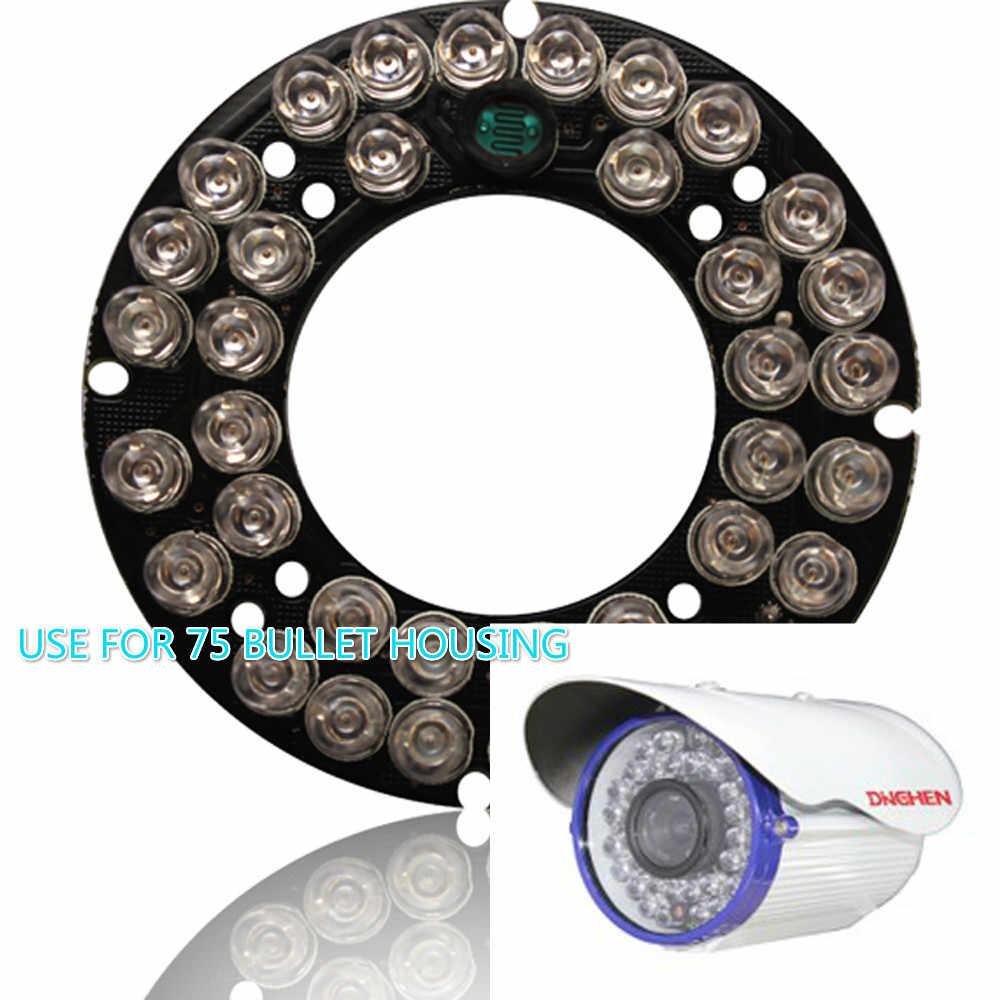 الأشعة تحت الحمراء مصباح ليد 36 المصابيح مجلس للأمن كاميرا 1000TVL CMOS الاستشعار 3.6 مللي متر عدسة مقاوم للماء رصاصة CCTV كاميرا مراقبة الفيديو