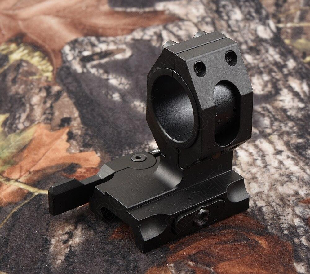 trilho base de montagem preto m9445