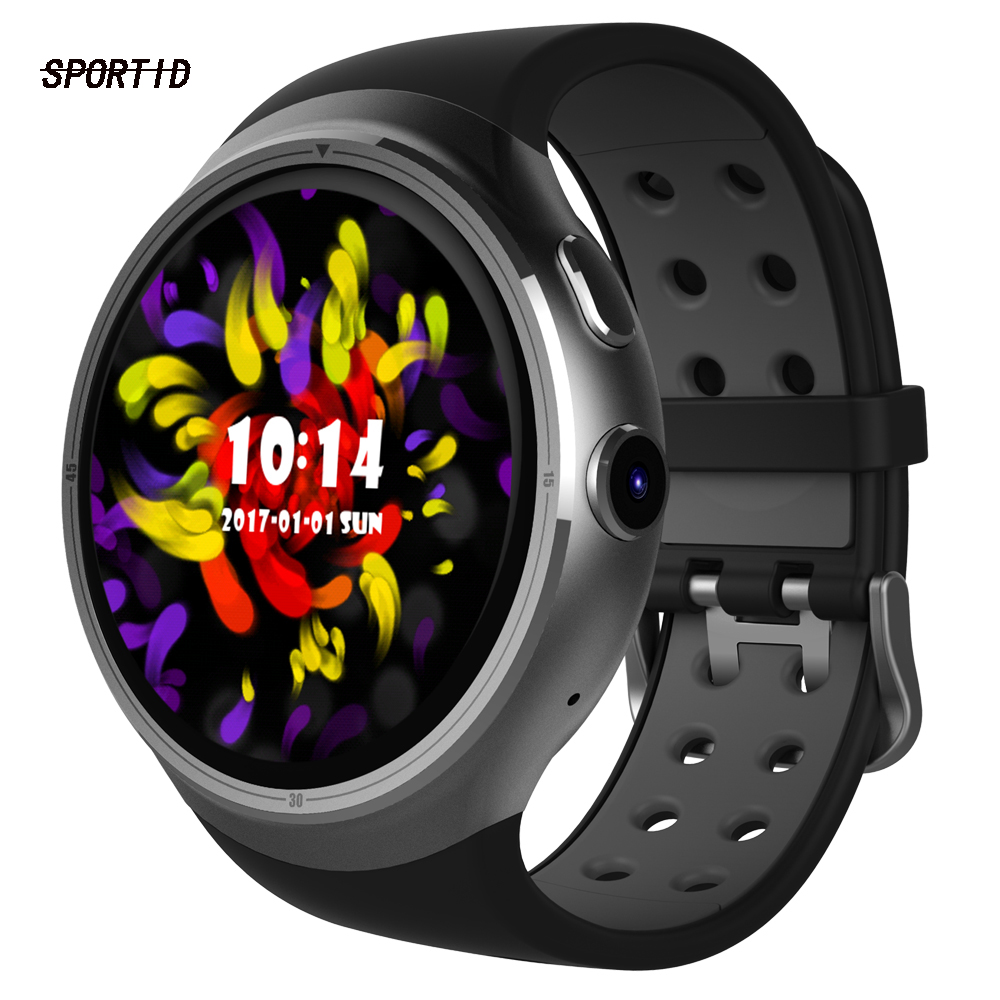 Original Z10 SmartWatch with Heart Rate Monitor Android 5.1 1GB+16GB Support GPS Wifi SIM Camera Men Wristwatch For Android iOS children s smart watch with gps camera pedometer sos emergency wristwatch sim card smartwatch for ios android support english e