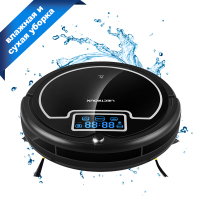LIECTROUX B2005PLUS Robot Vacuum Cleaner with Wet/Dry Big Mop Water Tank  Time Schedule  Auto Smart Recharge Clean Aspirator