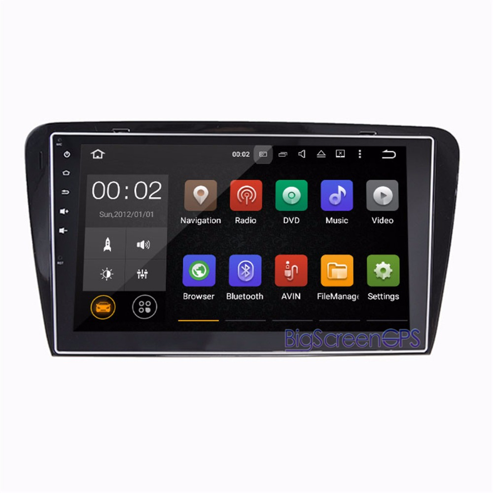 <font><b>10.2</b></font> Inch the Newest <font><b>Android</b></font> <font><b>8.0</b></font> 7.1 <font><b>Car</b></font> No DVD Player GPS Navi For Skoda Octavia 2014-2017 <font><b>Stereo</b></font> Multimedia video Autoradio image