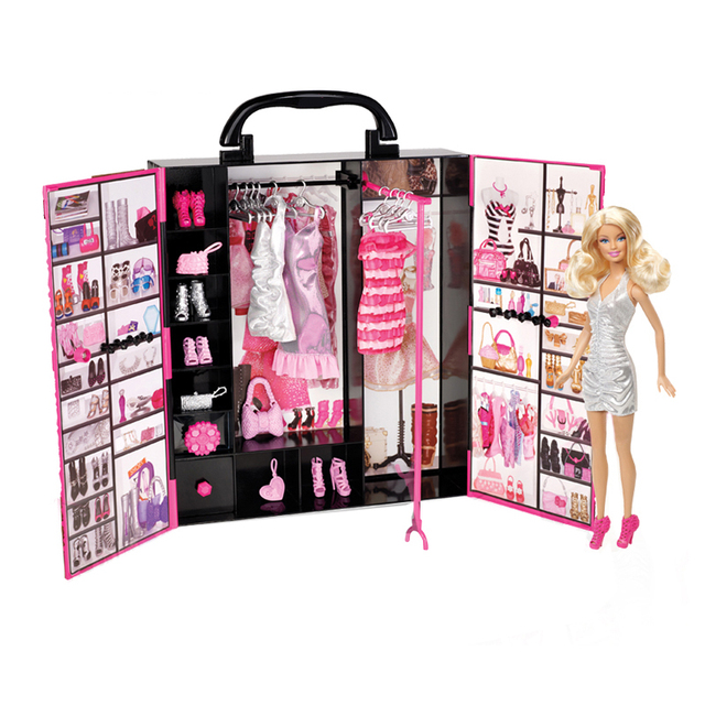 Genuine Barbie Doll Toys Lady Ultimate Fantasy Closet Baby Toys Clothing Costumes Suit Educational Toy Birthday Gift For Girls