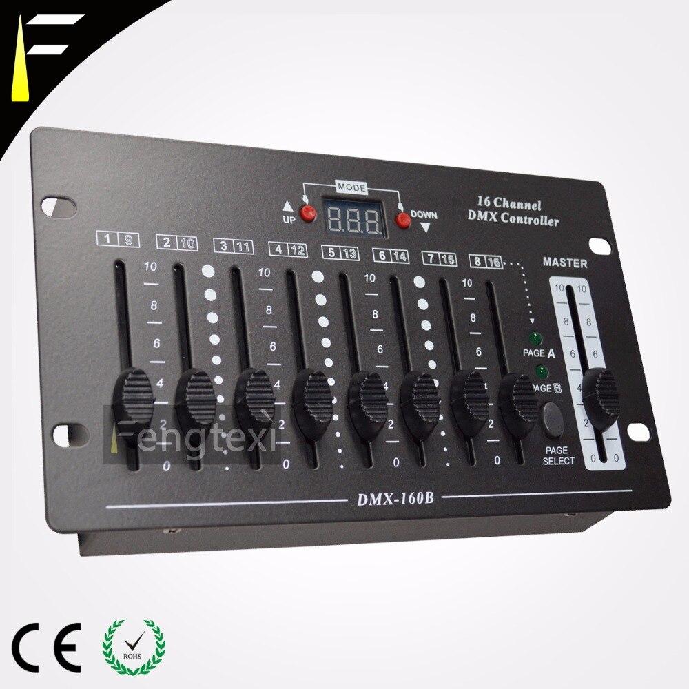 Compact Portable 16 Ch DMX 512 Console Device Mini 16 Channels Disco Dj Controller chauvet dj ch 31 portable trussing